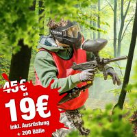 August Special: 4 Stunden Paintball ab 19 €