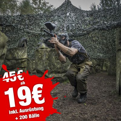 Winter Special - 4 Std Paintball ab 19€