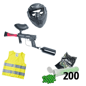 Paintball Komplettpaket